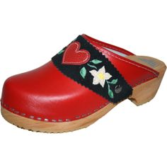 Traditional clog but with a sweet heart <3
