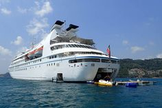Windstar's Cruise Ship - The Star Pride Damaged After Grounding