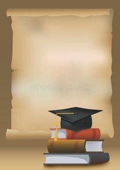 Illustration of invitation - 30749847 - Marcos de graduacion - Graduation background royalty free illustration - Preschool Graduation, Graduation Party Decor, Graduation Cards, Graduation Tassel, Graduation Stole, Graduation Quotes, Graduation Announcements, Graduation Invitations, Graduation Cap Images
