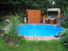 1000 images about pool schwimmteich on pinterest for Garten pool teilversenkt