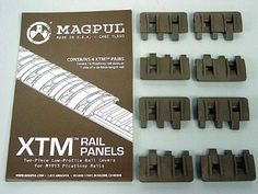 MAGPUL XTM Modular Rail Panels Cover Set of 8 Dark Earth by MAGPUL. $14.99  Great covers... Real pigs to remove though