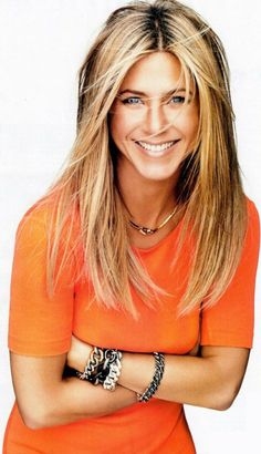 Jennifer Aniston long hair style #beauty