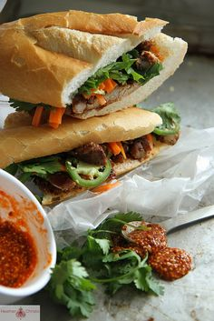 Bahn Mi Sandwich by Heather Christo, via Flickr
