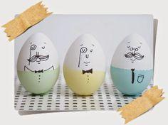 Decorar Huevos para Pascua-Easter Eggs Decor