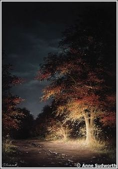 """""""Bonny Amrethryn """" by Anne Sudworth.  The magic of Earth and Autumn."""