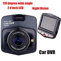 New 2.7 inch Car Camera DVR Recorder NightVision Registrator Camcorder 170 Degree wide angle G-Sensor Motion detection