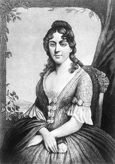 First ladies' fashion... Martha Wayles Skelton Jefferson. Married to Thomas Jefferson, who was in office 1801-1809.