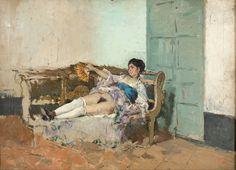 Marià Fortuny - Carmen Bastián