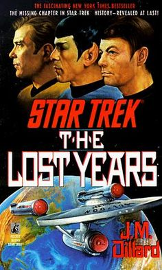 Star Trek The Lost Years novel