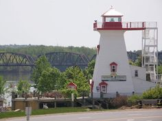 Photographic Thoughts From New Brunswick New Brunswick, The St, Nova Scotia, Lighthouses, Bridge, Walking, Canada, River, Spaces