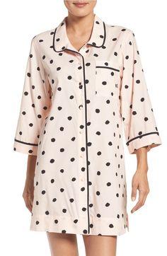 This polka dot sleep shirt is pefect for drifting off into dreamland