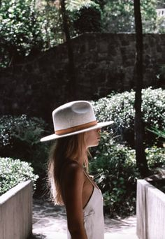 Luxe Hats / Honeymoon Style by Lack of Colour. View on The LANE.
