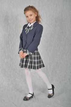 Girly Girl Outfits, Cute Little Girl Dresses, Cute Young Girl, Cute Little Girls, Girls Dresses, Cute School Uniforms, School Uniform Girls, Girls Uniforms, Young Girl Fashion