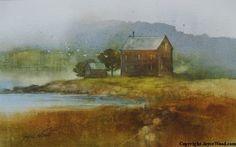 Painting 'Gulls'
