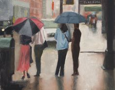 Oil Painting Painting - Couples by Tate Hamilton
