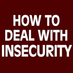 #love #life How to #deal with #insecurity #security #safety #art #text #writing #newyork #Manchester #london #Brussels #travel #shoutout #followme #me #we #hope #war #peace #activism #message #todo #nofilter #water #blue #Quote #quoteoftheday @White_box_open_space