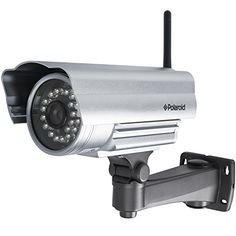 Polaroid IP351S Wireless Wifi N Bullet Outdoor IP Camera With Night Vision & Motion Detection #IPcamera #Security