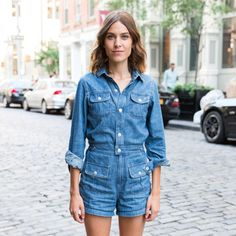 Alexa Chung at Alexa Chung for AG Jeans pre-launch event