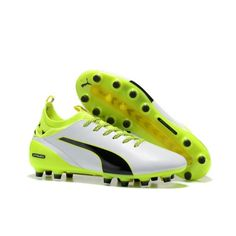 best loved 05d6e 15200 Discount Puma evoTOUCH Pro AG White Green Football Boots