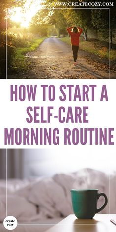 Awesome tips for a stress-free and nourishing, restful, self-care morning routine. I felt more relaxed just reading them and with many easy changes that I'll be putting into action right away!