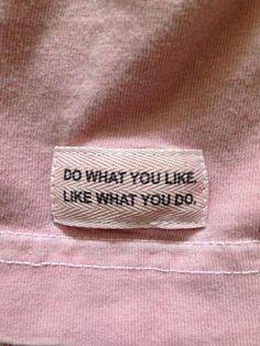 GIRLBOSS MOTIVATION: Do What you like, like what you do