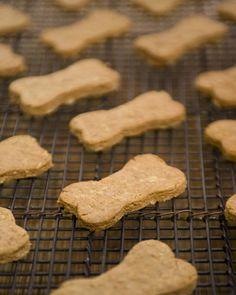 Apple-Cheddar Dog Biscuits