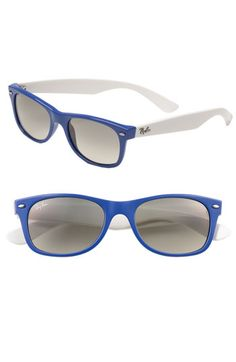 Ray-Ban 'New Small Wayfarer' Sunglasses (Nordstrom Exclusive Colors) in Sea    item #227884  $119.00