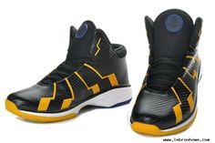 Discount Nike Zoom Lebron 10.8 Shoes-Black Yellow White White Basketball  Shoes 0dde15720