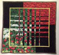 Convergence Quilt - Poppies [ | <br/> Panel