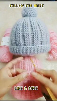 Beginner Crochet Projects, Crochet For Beginners, Baby Hats Knitting, Knitted Hats, Crocheted Baby Hats, Crochet Baby Beanie, Crochet Man Hat, Crochet Hats For Girls, Childrens Crochet Hats