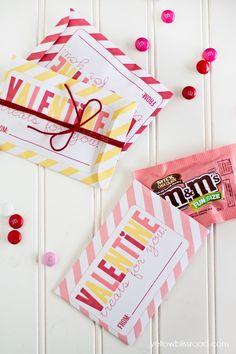 Free Printable Valentine Envelopes/ Treat Bags