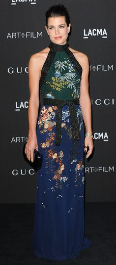 Charlotte Casiraghi 2014 LACMA Art + Film Gala at the LACMA © Chase Rollins / AFF-USA.COM