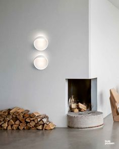 Flindt Wall in white Floating Shelves, Scandinavian, Christian, Living Room, Simple, Wall, Modern, Design, Home Decor