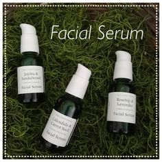 Facial Serum Mature Skin Sensitive Skin or by WoodlandYard on Etsy