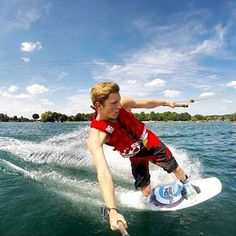 #photooftheday YAS to wakeboarding! What are your favorite summer activities? Photo Cred: @robert kra using our POV Pole! #spgadgets #povpole #addmorefunction #wakeboarding #summer #gopro #goprohero #waves #summervibes #sports #watersports #device #technology #tech