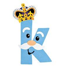 K Is For King Letter K Craft Kit - OrientalTrading.com