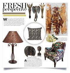 """""""Tribal"""" by dragonflylt ❤ liked on Polyvore featuring interior, interiors, interior design, home, home decor, interior decorating, NOVICA and WALL"""