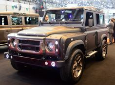 Land Rover Defender tune by Kahn Design