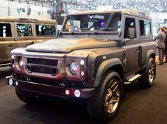 Land Rover Defender tune by Kahn Design