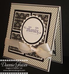 Masculine Thanks by DannieGrvs - Cards and Paper Crafts at Splitcoaststampers