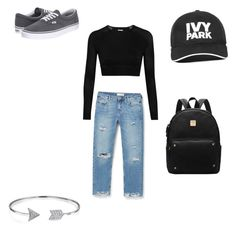 """Sin título #77"" by emma-sturbucks ❤ liked on Polyvore featuring MANGO, Ivy Park, Bling Jewelry and Vans"