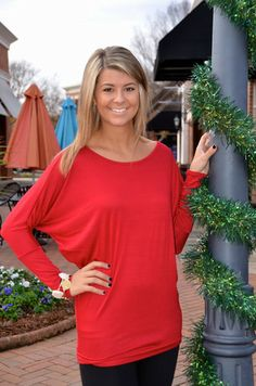Easy Breezy tunic, red – Chapter 2 Boutique