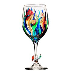 """<ul style=""""padding: list-style: none; font-size: line-height: <li style=""""padding: vertical-align: middle;""""> <ul style=""""padding: list-style: none; Unique Wine Glasses, Decorated Wine Glasses, Hand Painted Wine Glasses, Wine Glass Designs, Painted Glass Bottles, Wine Glass Charms, Bottle Painting, Wine Bottle Crafts, Bar"""
