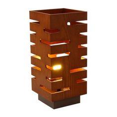 Wood cutout lamp #KBHomes