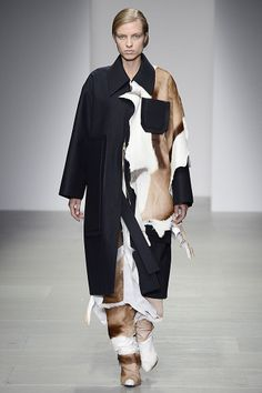 Drew Honey, Central Saint Martins MA, AW14 #LFW