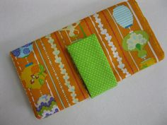 Orange Cream iphone / ipod case / Wallet  by CandyCornerQuilting, $6.50, this new pattern is a special request and I love it! The instructions are super easy so anyone can make this, even a beginner sewer!