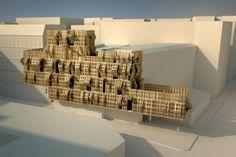 ALLPE Medio Ambiente Blog Medioambiente.org : Una fachada de palets de madera articulados