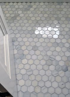 Marble Hex Tile At Bath U0026 Shower Floor Part 31