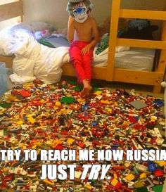 x3 No thanks man, I don't want legos in my feet<<<< Then that means...DENMARK! I NEED MORE LEGOS!