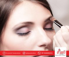 Do you dare to dream of becoming a makeup artist for movie stars and media professionals? Make your dream come true by turning into a professional makeup artist with makeup artistry courses from Dr Paul's Institute of Advanced Studies and Research. Call 9230092316, for more details. Hurry, as there are limited seats.